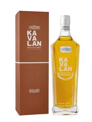 """קאוולאן סינגל מאלט 700 מ""""ל – Kavalan Single Malt Whisky"""