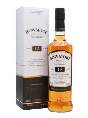 """באומור 12 שנה 700 מ""""ל – Bowmore 12"""
