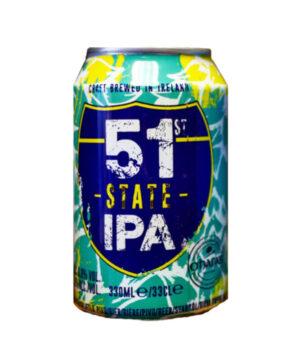 """51 סטייט ניו אינגלנד איי.פי.איי פחית 330 מ""""ל"""