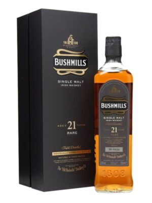 """בושמילס סינגל מאלט 21 שנה 700 מ""""ל – Bushmills 21"""