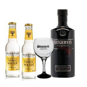 ברוקמנס + 2 טוניק + כוס – Brockmans