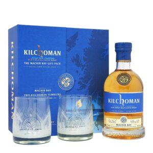 קילכומן מאכיר ביי מארז כוסות – Kilchoman Machir Bay