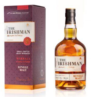 """איירישמן מרסלה 700 מ""""ל – Irishman MARSALA Cask Finish"""
