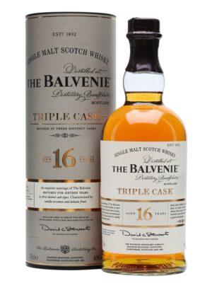 """בלוויני 16 טריפל קאסק 700 מ""""ל – Balvenie 16 Triple Cask"""