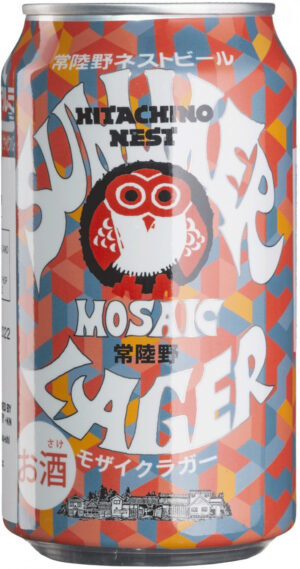 "Hitachino Nest Beer Mosaic Hop Lager – היטאצ'ינו נסט לאגר 350 מ""ל"