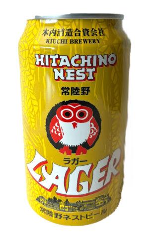 "Hitachino Nest Beer Lager – היטאצ'ינו נסט לאגר 350 מ""ל"