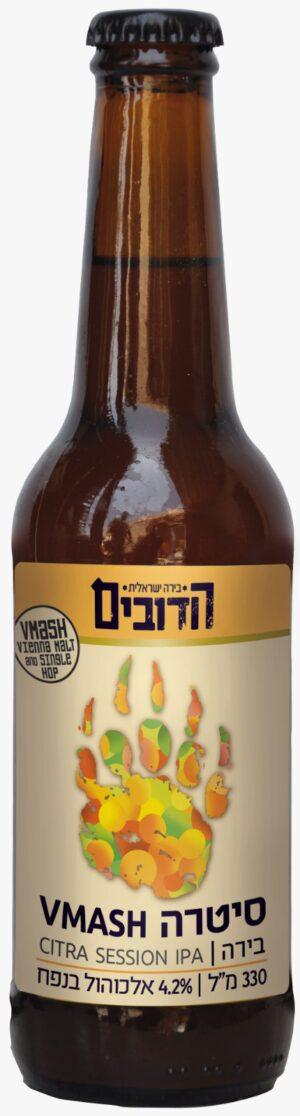 """הדובים וימאש סיטרה סיזן איי. פי. איי. 330 מ""""ל – Hadubim Beer VMASH Citra Session IPA"""