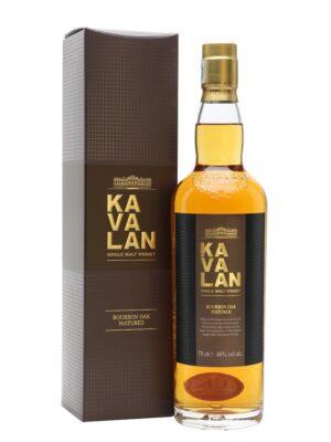 """קוואלן סינגל מאלט מיושן בחבית בורבון 700 מ""""ל –  Kavalan Single Malt Whisky Bourbon Oak Matured"""