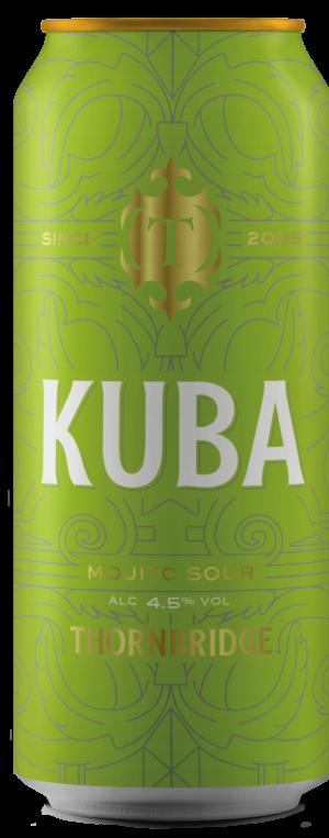 """ת׳ורנברידג׳ קובה מוח'יטו סאוור 440 מ""""ל – Thornbridge Kuba Mojito Sour"""