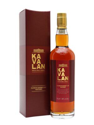 """קוואלן סינגל מאלט מיושן בחבית שרי 700 מ""""ל –  Kavalan Single Malt Whisky Oloroso Sherry Oak Matured (העתק)"""