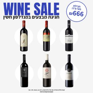 """ווין סייל: חבילת """"פטי ורדו"""" – Wine Sale: """"Petit Verdot"""" Pack"""