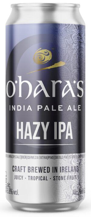 """אוהר'ס הייזי איי.פי.איי. פחית 440 מ""""ל O'hara's Hazy IPA Can"""