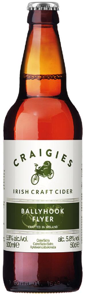 """קראייג'איס באליהוק פלייר סיידר 500 מ""""ל – Craigies Ballyhook Flyer Cider"""